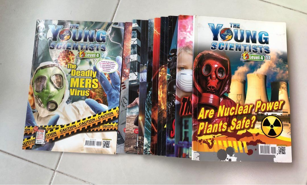 The Young Scientists Level 4 (11 - 20) x 10 Books