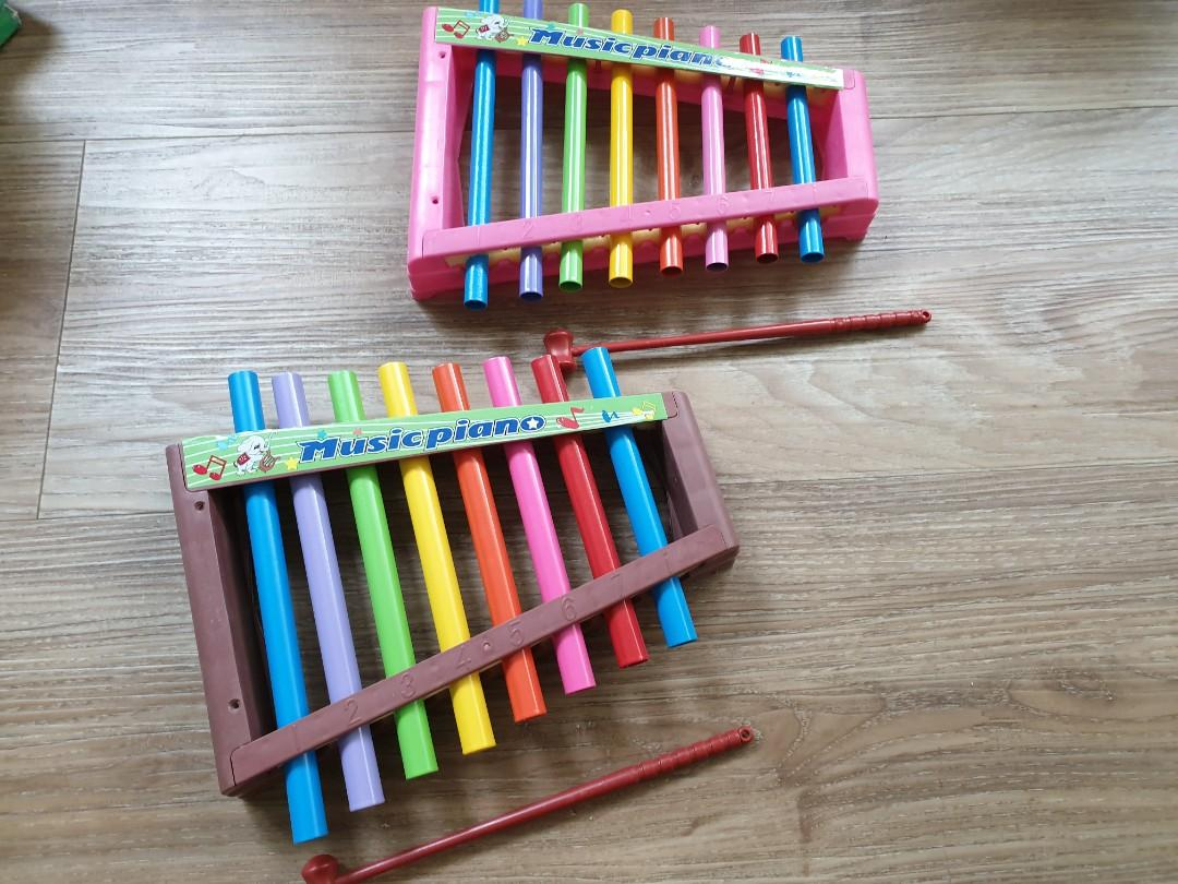 Music piano or xylophone