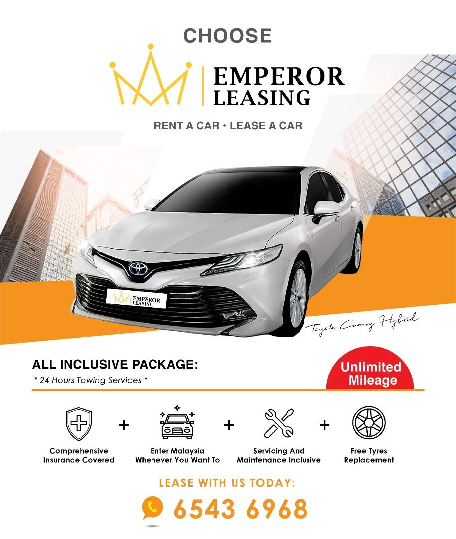New Cars For Rent And Lease By Emperor Leasing
