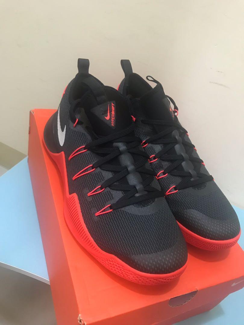 NIKE HYPERSHIFT EP 籃球鞋 男 黑紅 US12
