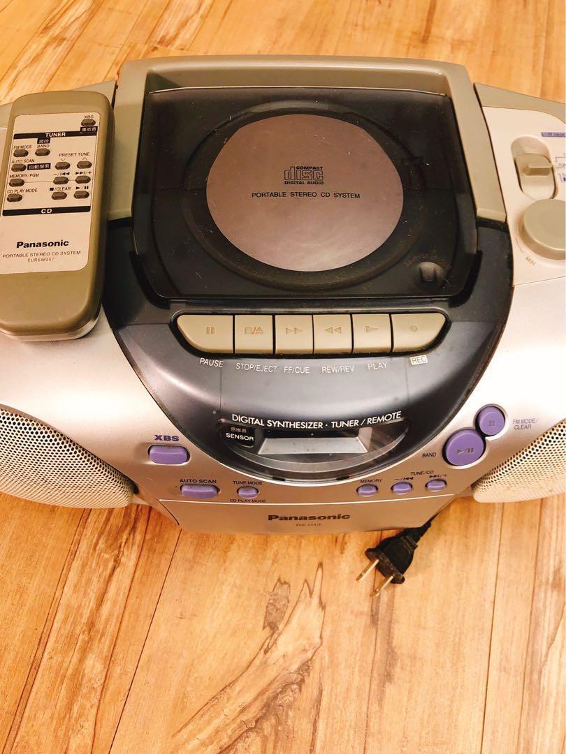 Panasonic RX-D23   CD / Radio/廣播/手提音響