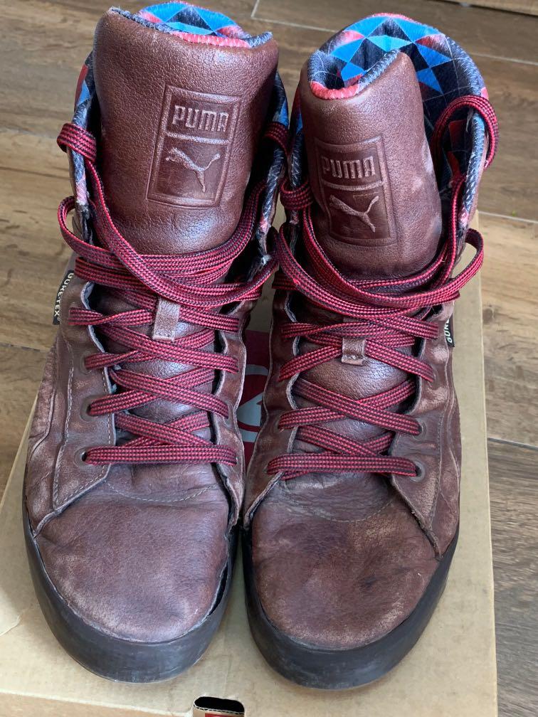 Puma Gore-Tex hi-sneakers spirts shoes