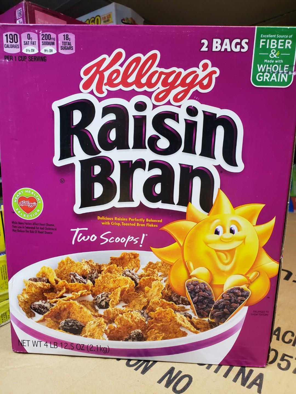 Rasin Bran 兩大盒    早餐 麥片, 美國直送