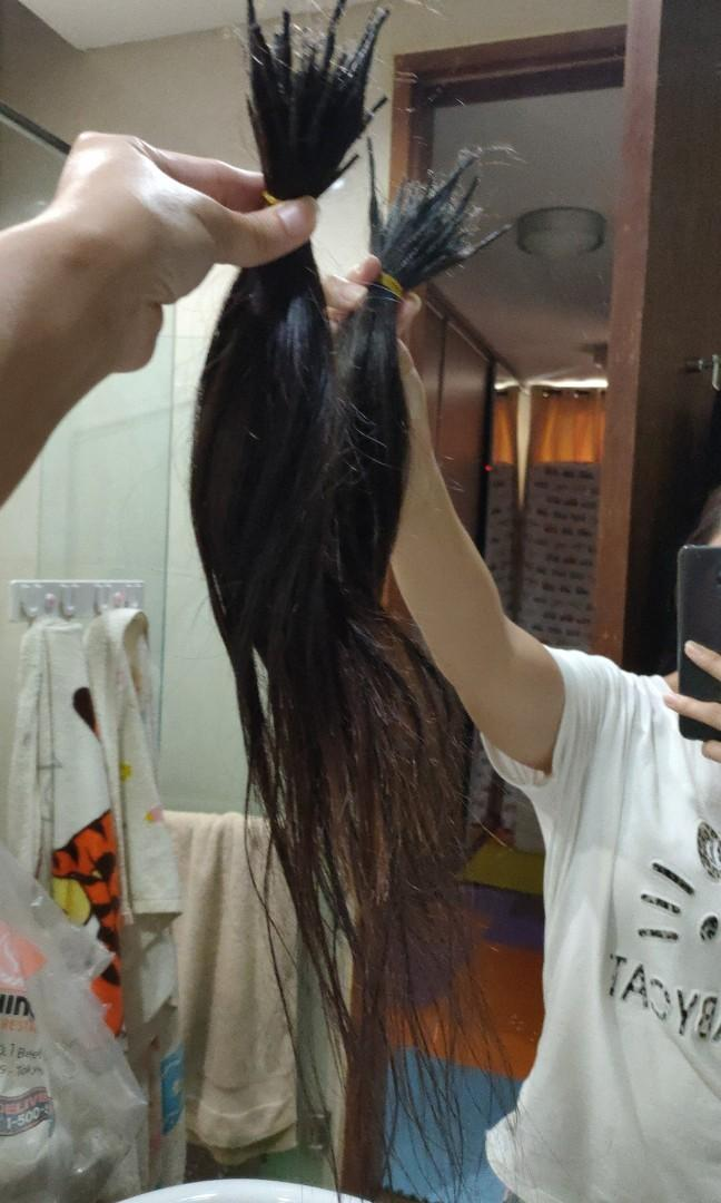 respon 1 - Penjual rambut sambung