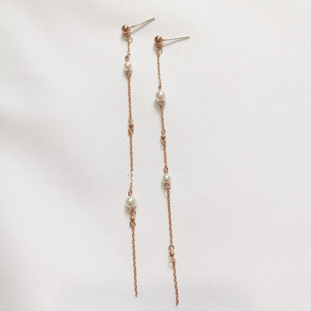 S925 Pearly Earring