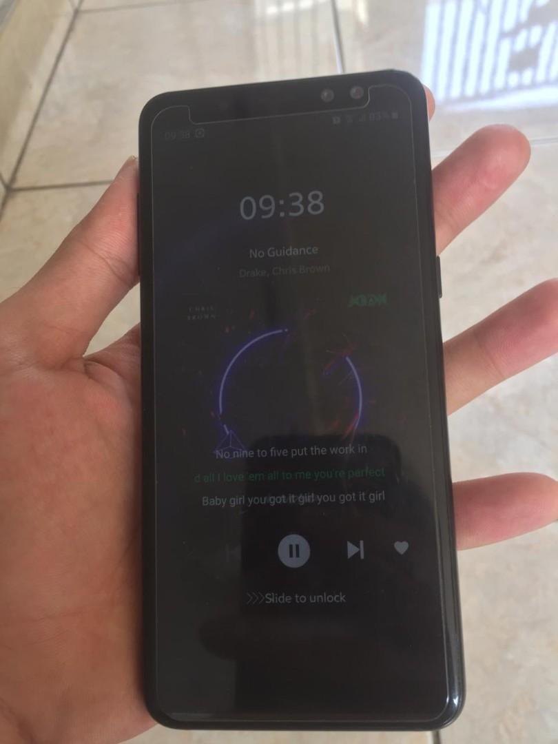 Samsung Galaxy A8 2018 SEIN BLACK 4/32