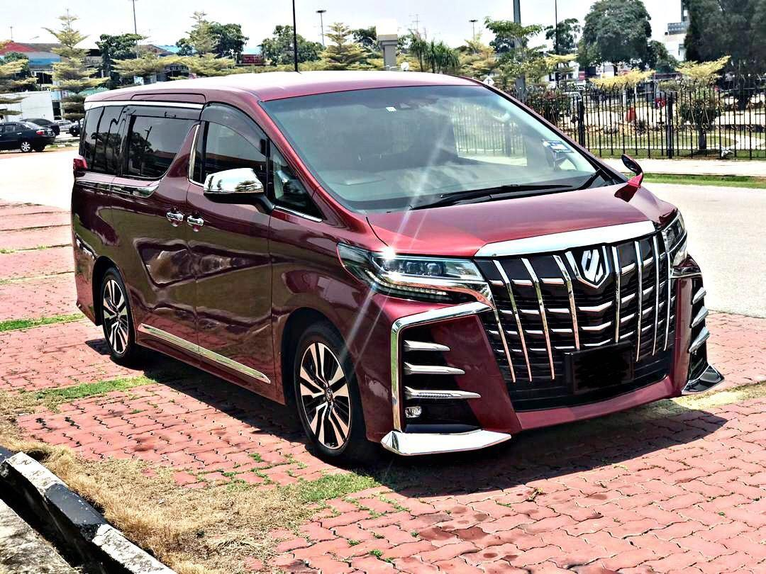 SEWA BELI>>TOYOTA ALPHARD 2.5 GS(C) RED COLOUR EXTERIOR(LIMITED) 2018/2019