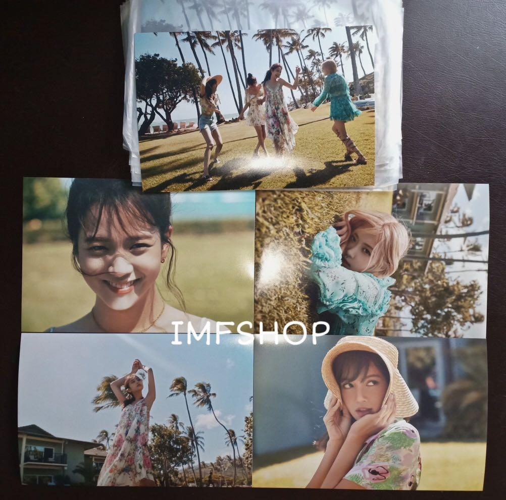 [SHARING] BLACKPINK - HAWAII PHOTO SET LIMITED EDITION