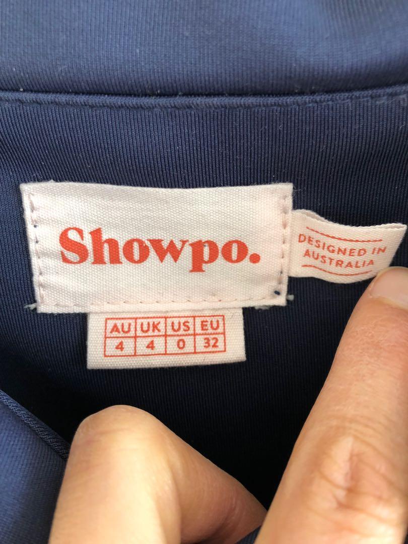 SHOWPO One For The Money Dress, Size 4 6 XXS XS, Steel Blue, Formal Gown