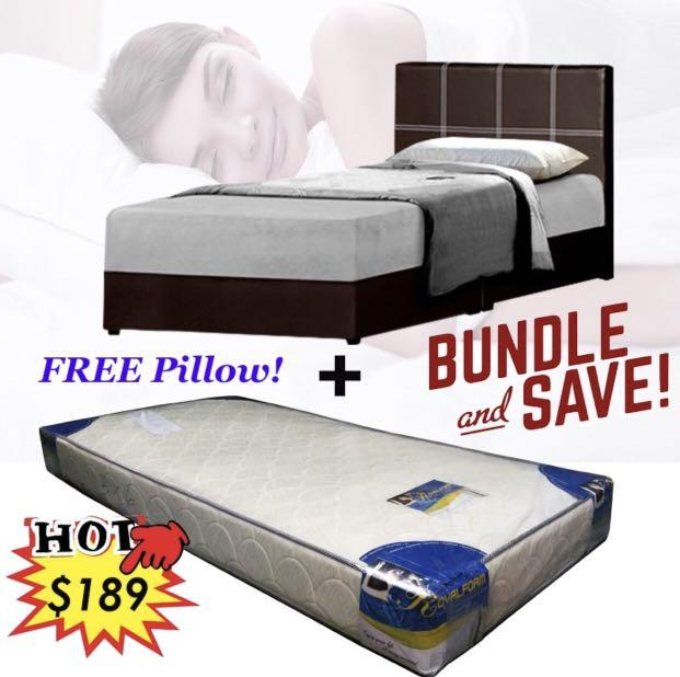 Single Bed + Mattress