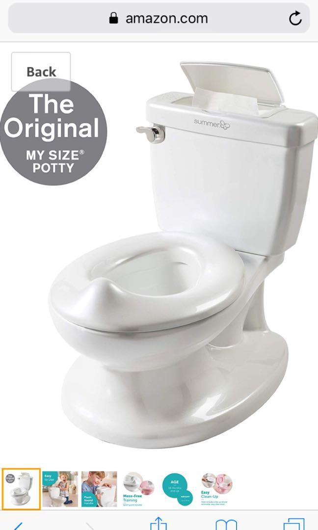 Summer Infant My Size Potty - Training Toilet for Toddlers