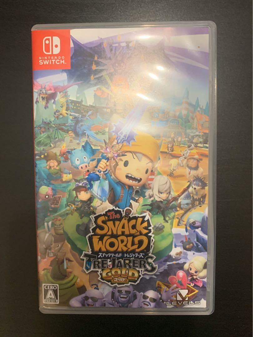 Switch Game  Snack World 日文