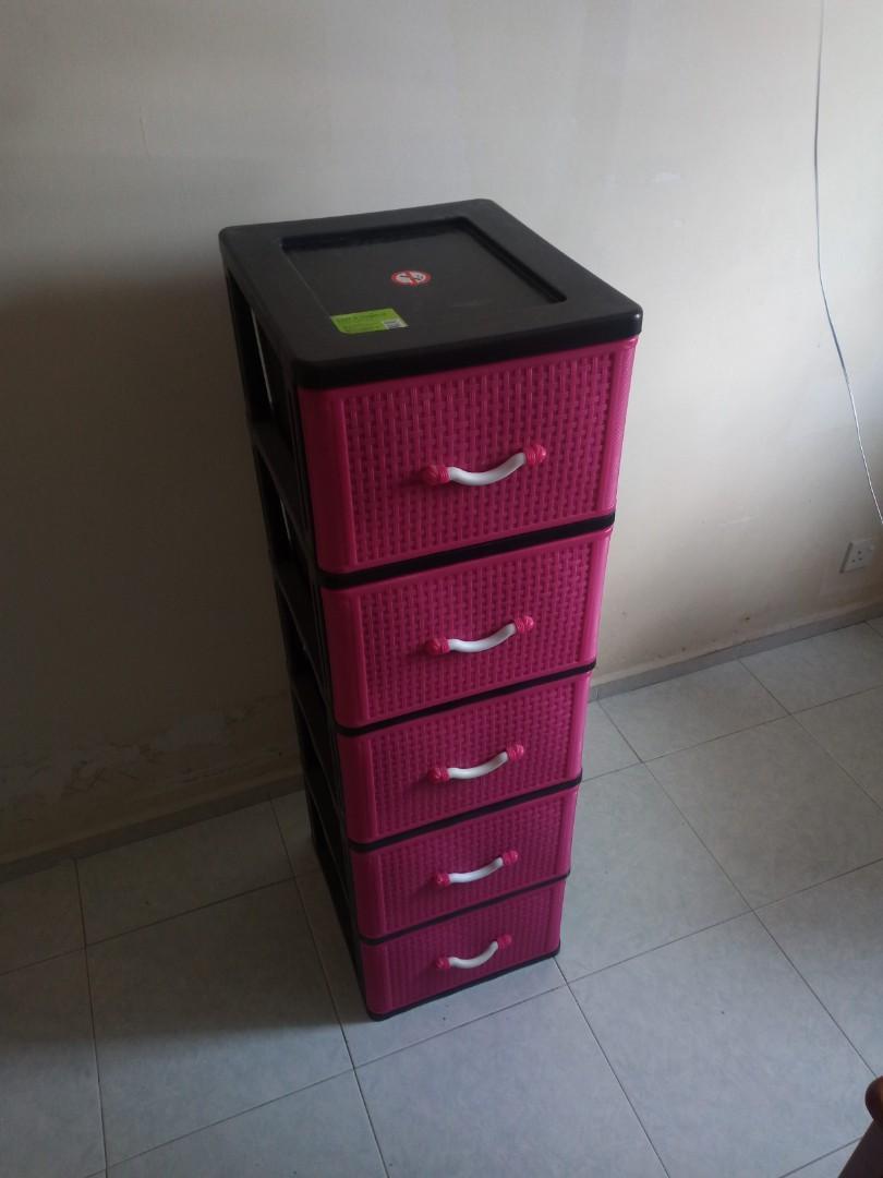 Tesco 5 Layer Drawer Tc 7500, Plastic Drawer Cabinet Tesco