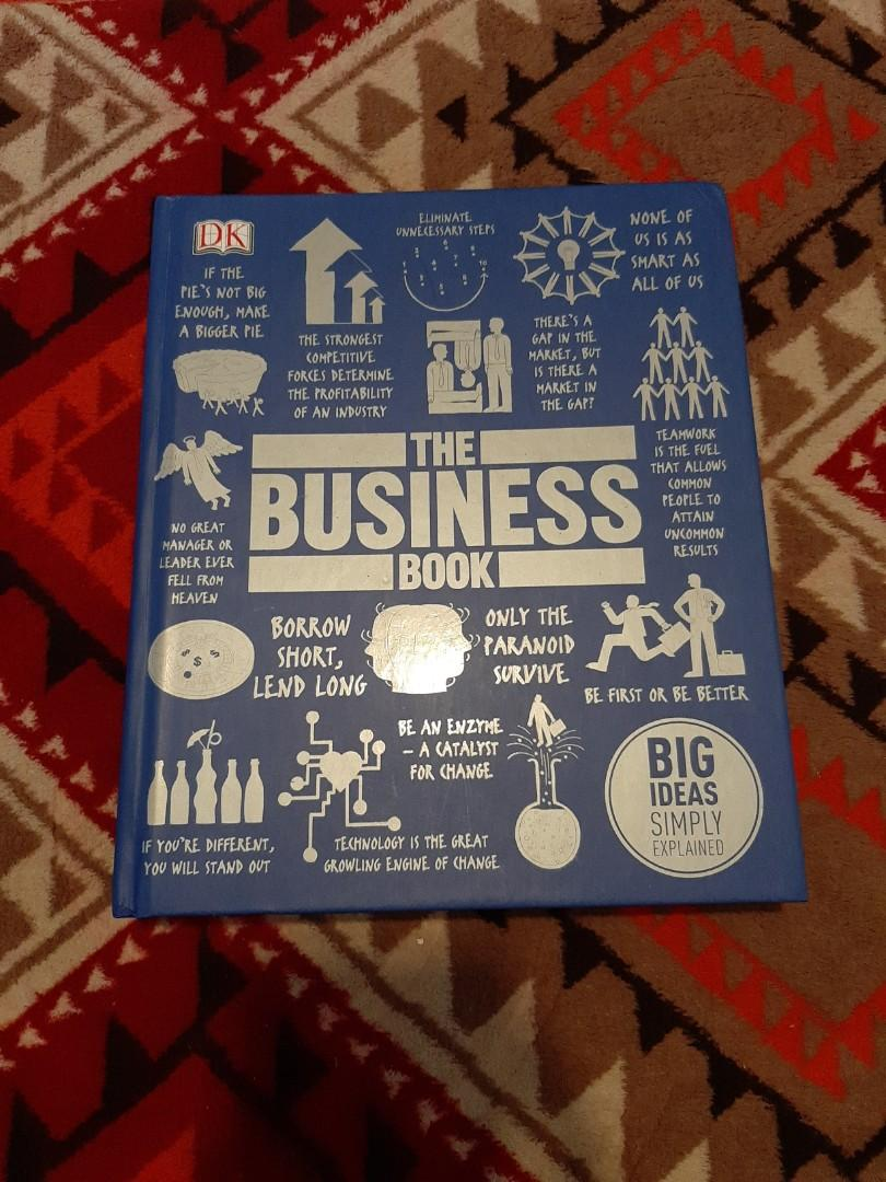 THE BUSINESS BOOK (preloved book)
