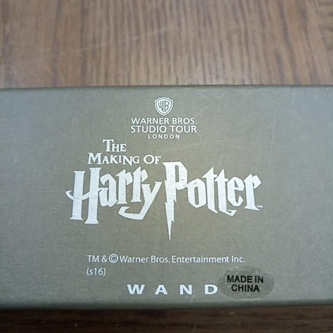 (可寄送)The making of Harry Potter 哈利波特魔法棒(黑) cosplay 【日式二手店 大和堂】