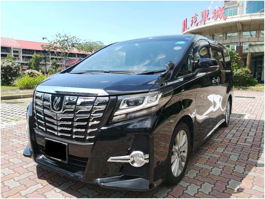 TOYOTA ALPHARD S A-PACKAGE 2.5 A