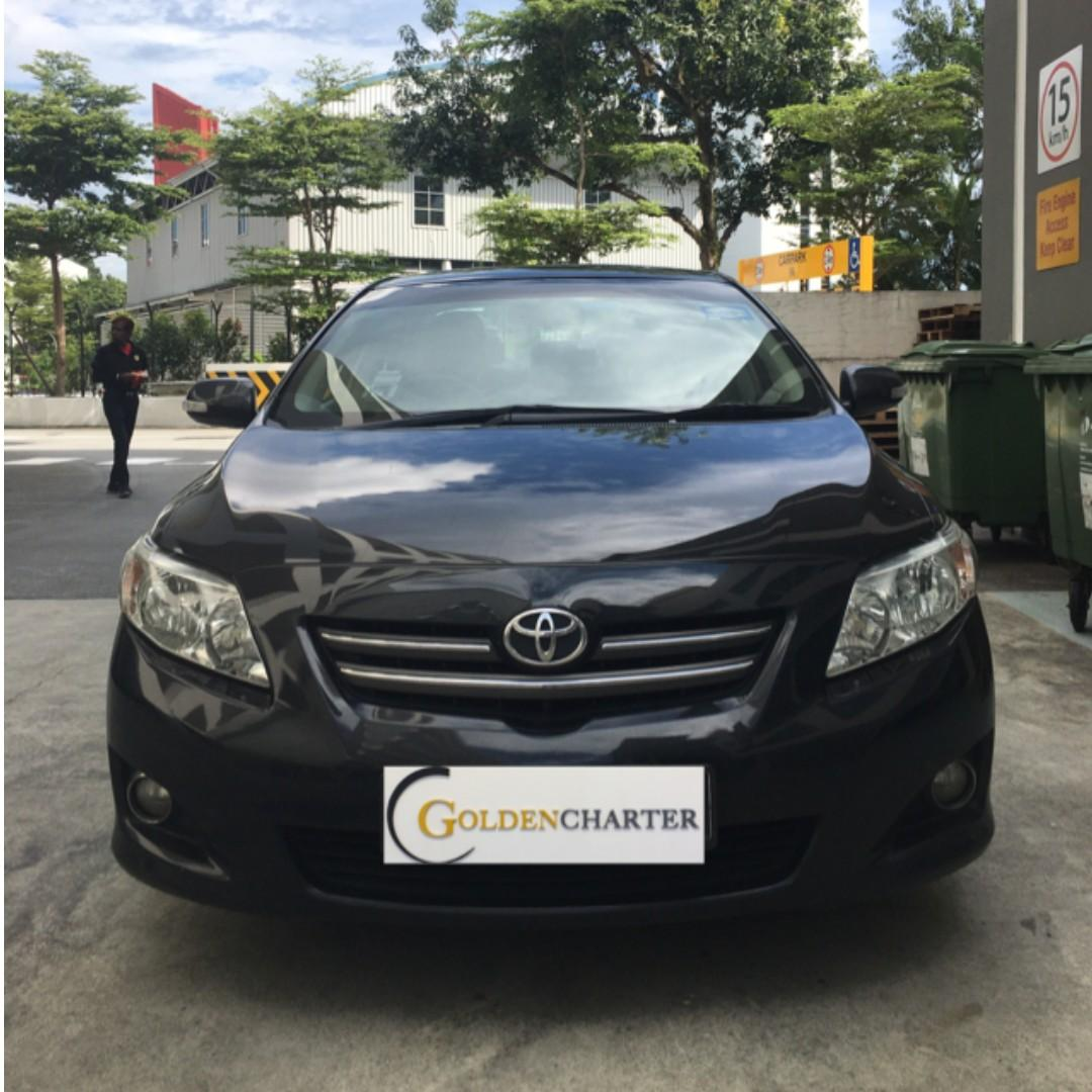 Toyota Altis Rental For Personal or PHV use. Enquire now !