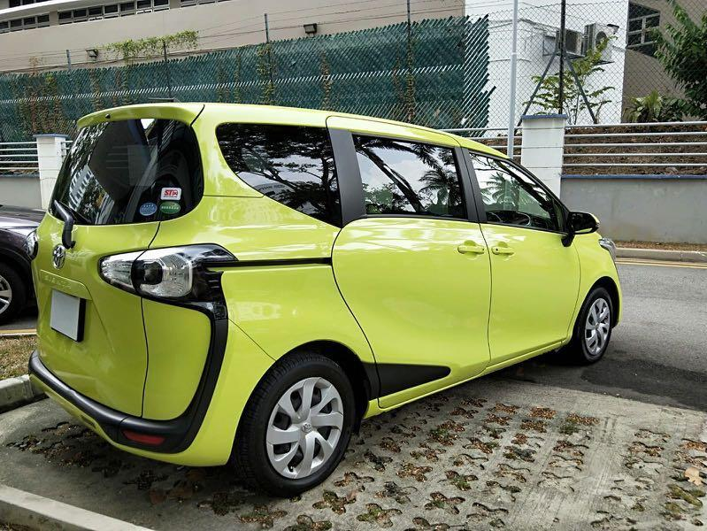 Toyota Sienta 1.5A ( minimum contract 6 month )