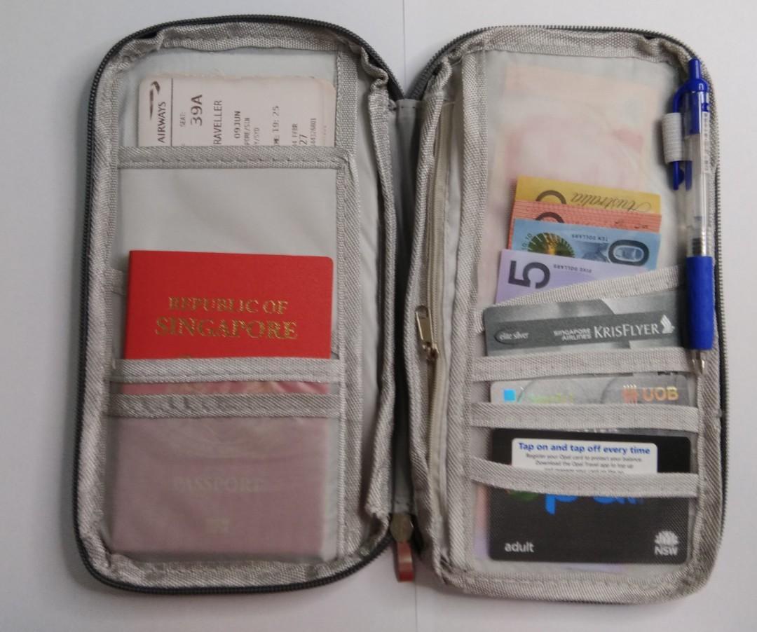 Travel organiser|Air ticket holder |Passport holder|Travel pouch |Travel wallet
