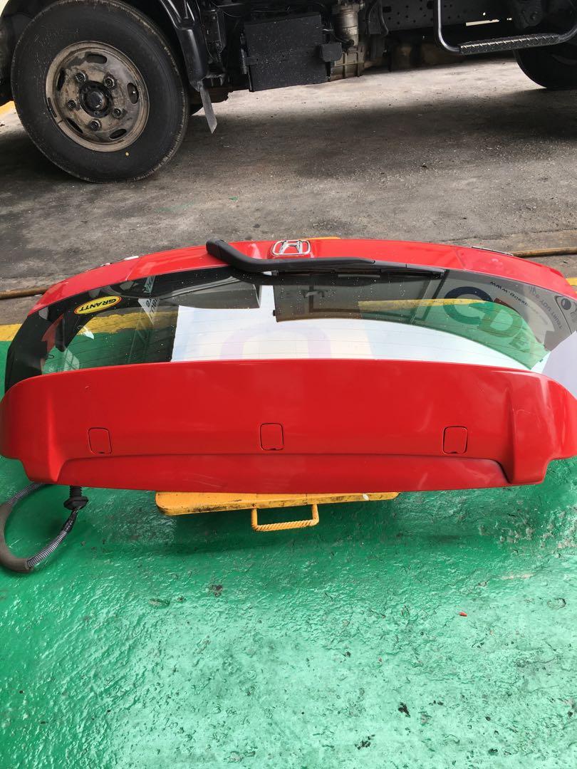 trunk belakang jazz gd