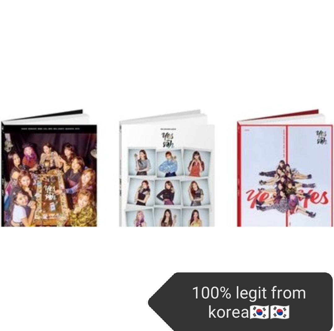 Twice yes or yes album(100% from korea🇰🇷) (pre-order)