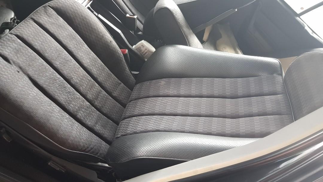 W201 190e seats and w124 15inch rims