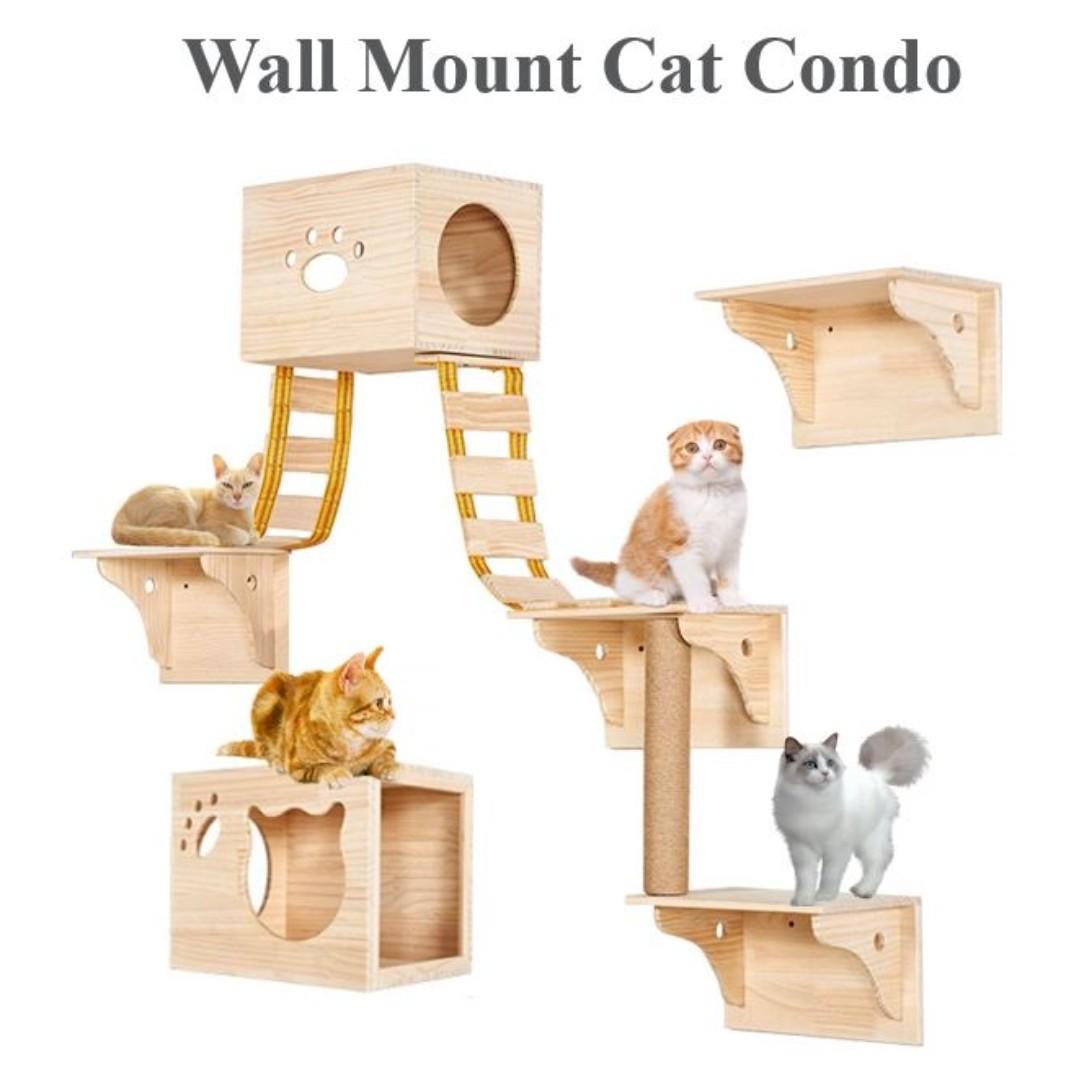 Wall Mount Cat Condo