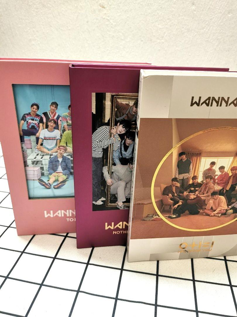 Wanna one FIRST three album