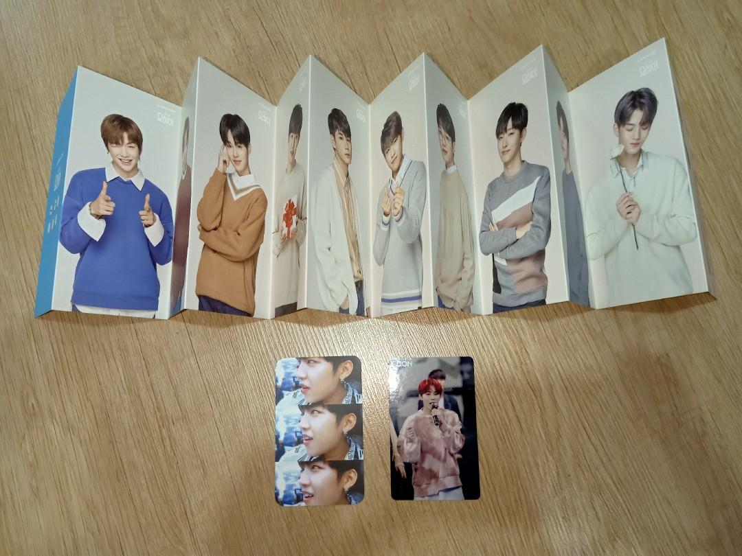 Wanna One yohi booklet