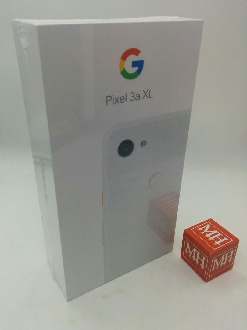 White 64gb Google pixel 3a XL sg set MHOCT
