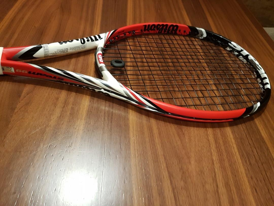 Wilson Steam 99 Tennis Racket