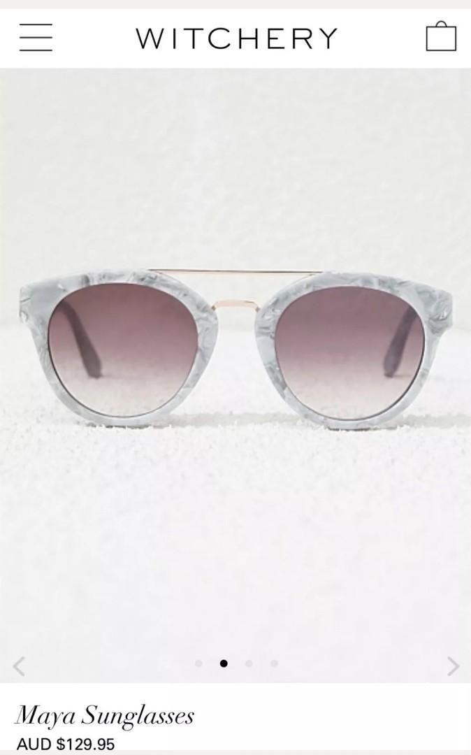 Witchery Maya Limited Edition Sunglasses, $RRP$129.95