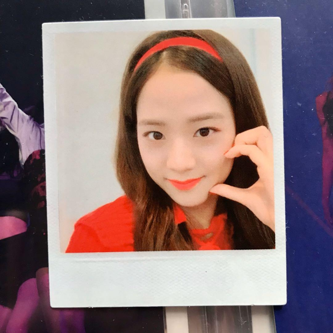 [wts / wtt] jisoo polaroid photocard - blackpink kill this love