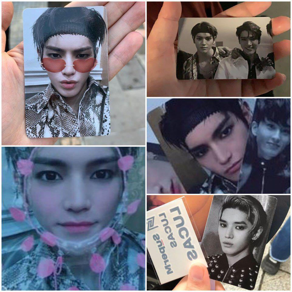 WTS SuperM Taeyong Unrevealed Photocard