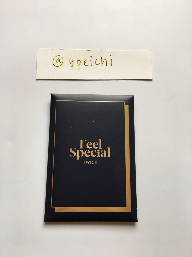 [WTS] Twice Feel Special ver B (Blue) Photocard Set