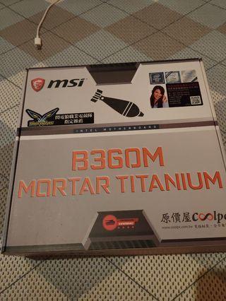 微星 B360M MORTAR TITANIUM