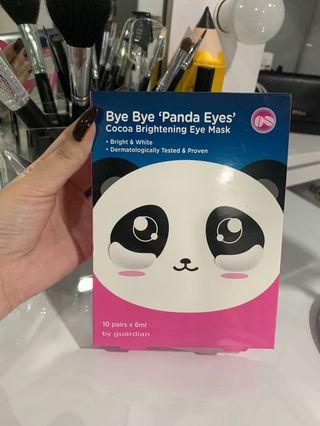 Masker Panda eye sheet mask