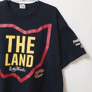 Regalo古著∣NBA finals 騎士隊紀念T-shirt The Land 總冠軍賽