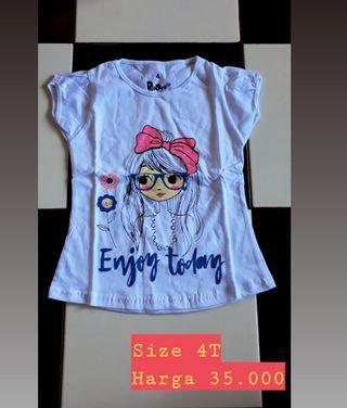 Kaos Anak Perempuan murah