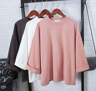 High Quality Korean Loose Top
