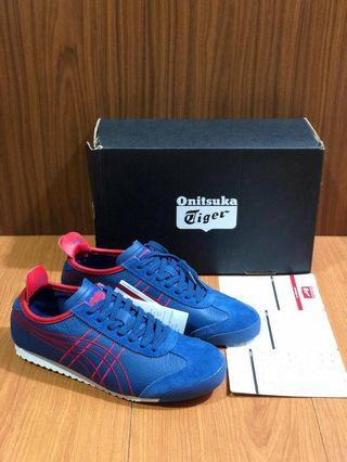 onitsuka tiger mexico 66 mindnight blue/red  size 38-44 Miror bnib