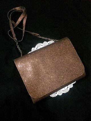 Lokal H&M Glitter Bronze