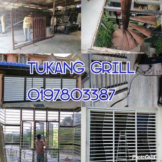Tukang grill renovation dan plumbing 0197803387