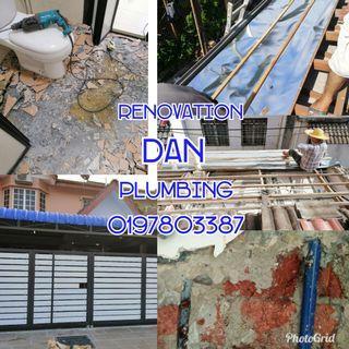 Renovation dan plumbing 0197803387 kuala lumpur