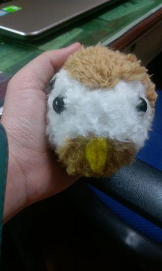 Pompom毛線球動物娃娃-鳥