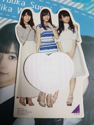 Nogizaka46 - Standee Memo Pad (used)