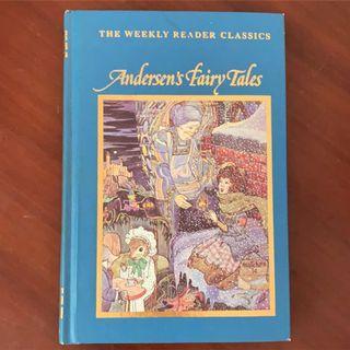 安徒生童話 精裝英文版 近全新 Andersen fairy tales 原文小說 英文書
