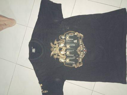 Dewa 19 band tour 2007 tees