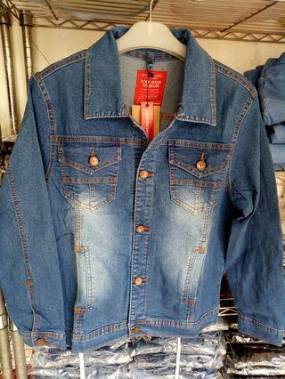 New jaket jeans all size