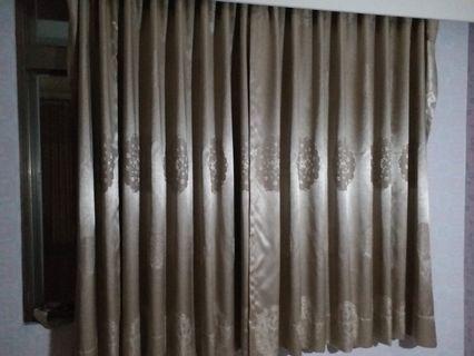 窗簾 長度193公分 面寬203公分
